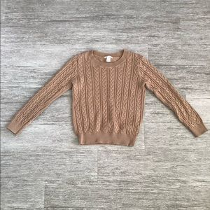 Brown Sweater from H&M